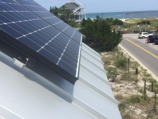 SunPower Panel Install Wrightsville Beach, NC Cape Fear Solar Systems