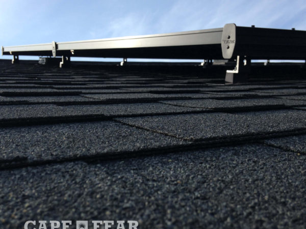SunPowel Panel Install and Solar Attic Fan Cape Fear Solar Systems
