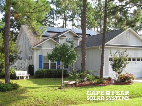 SunPower Solar Panel Installation Southport, NC - Cape Fear Solar Systems Wilmington, NC