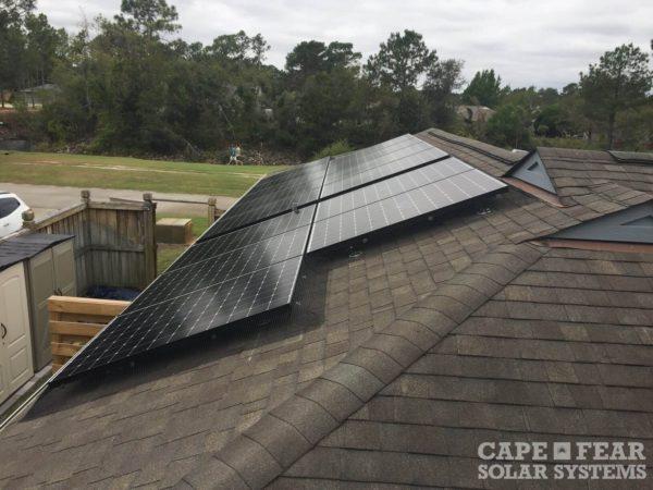 SunPower Solar Panel Install Wilmington, NC | Cape Fear Solar Systems
