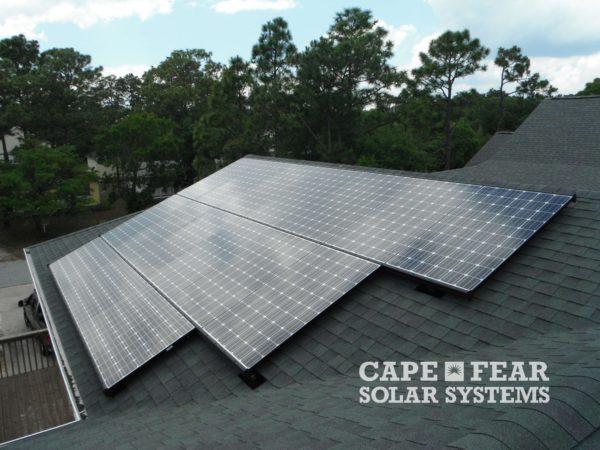 Solar Panel Installation and Solar Attic Fan Cape Fear Solar Systems
