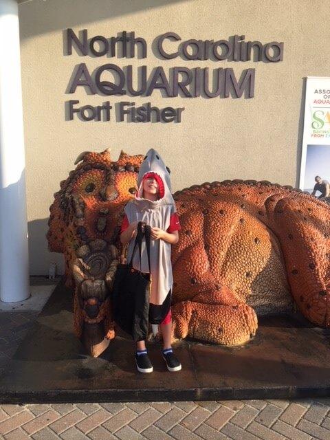 Aquarium Trick or Treat Event
