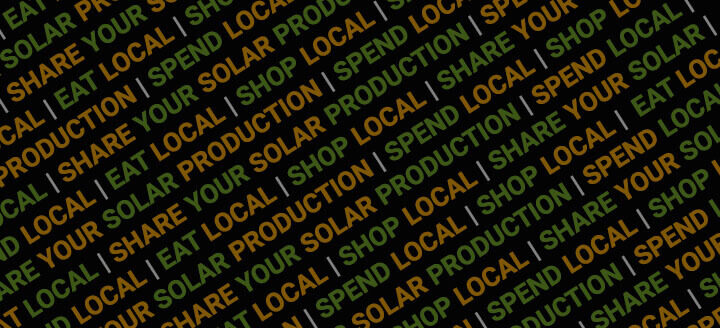 Shop Local Eat Local Spend Local Go Solar Local
