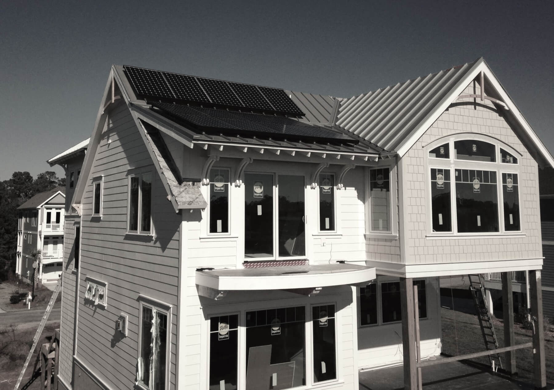 Solar For New Construction How Does Power Work In A Residential Home Why Is It That All Developments Have Higher Adoption Rate Of
