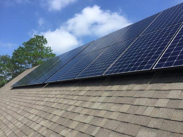 SunPower Panel Install - Cape Fear Solar Systems