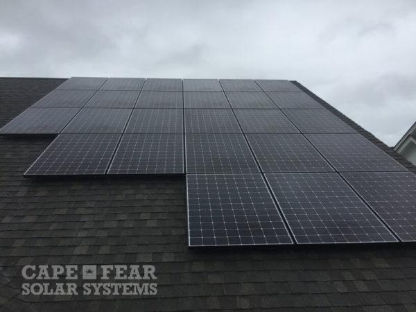 SunPower Solar Installation St. James, NC - Cape Fear Solar Systems