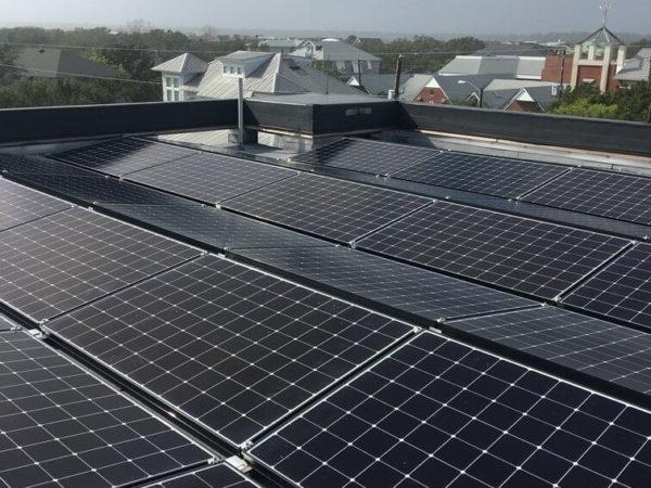 New Construction SunPower Panel Installation - Wrightsville Beach, NC Cape Fear Solar Systems