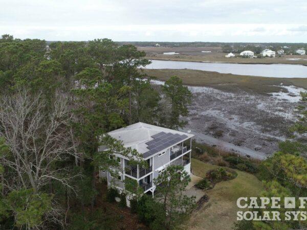 Residential Photovoltaic Solar Installation Retrofit | Oak Island North Carolina