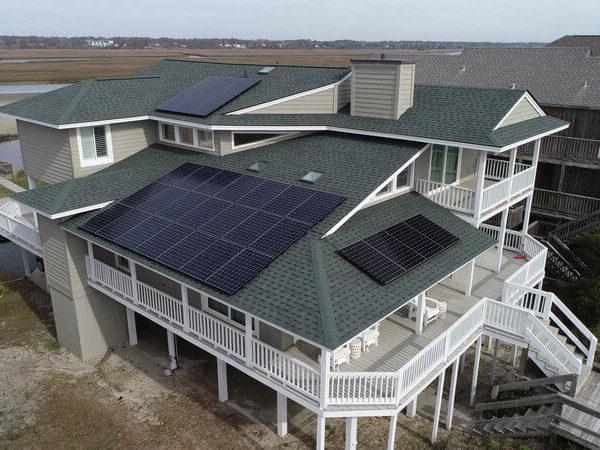 SunPower Panel System Installation Cape Fear Solar Systems